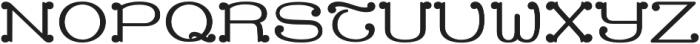 MFC Capulet Monogram Solid otf (400) Font UPPERCASE