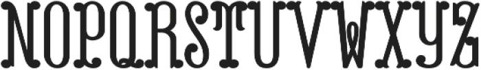 MFC Capulet Monogram Solid otf (400) Font LOWERCASE
