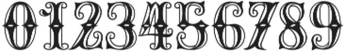 MFC Carnivale Monogram Regular otf (400) Font OTHER CHARS