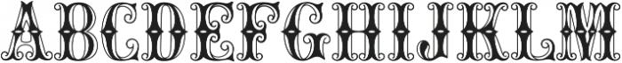 MFC Carnivale Monogram Regular otf (400) Font UPPERCASE