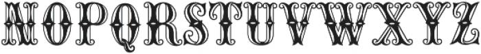 MFC Carnivale Monogram Regular otf (400) Font LOWERCASE