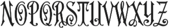MFC Carson Monogram Regular otf (400) Font LOWERCASE