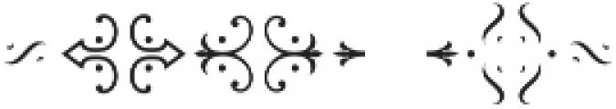MFC Chaplet Chroma Mngm 250 Impressions otf (400) Font OTHER CHARS