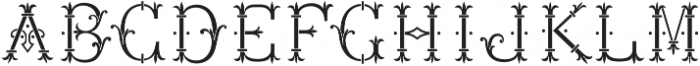 MFC Chaplet Chroma Mngm 250 Impressions otf (400) Font UPPERCASE