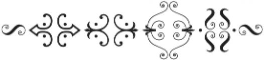 MFC Chaplet Stencil Mngm 250 Impressions otf (400) Font OTHER CHARS