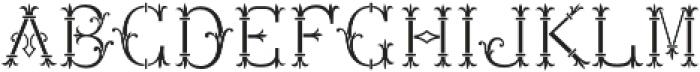 MFC Chaplet Stencil Mngm 250 Impressions otf (400) Font LOWERCASE