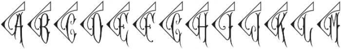 MFC Diamant Monogram Solid Regular otf (400) Font UPPERCASE