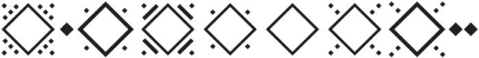 MFC Diamondside Mngm Back otf (400) Font OTHER CHARS
