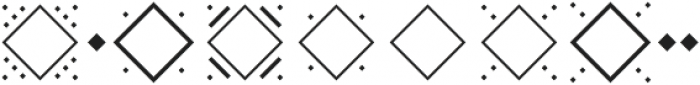 MFC Diamondside Mngm Regular otf (400) Font OTHER CHARS