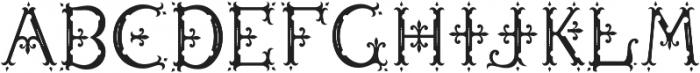 MFC Diresworth Monogram Fill otf (400) Font UPPERCASE