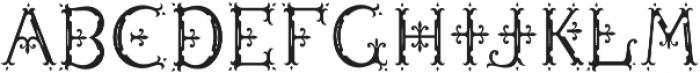 MFC Diresworth Monogram Fill otf (400) Font LOWERCASE