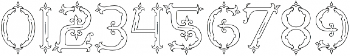 MFC Diresworth Monogram otf (400) Font OTHER CHARS