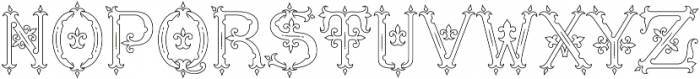 MFC Diresworth Monogram otf (400) Font UPPERCASE