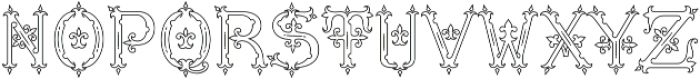 MFC Diresworth Monogram otf (400) Font LOWERCASE
