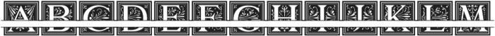 MFC Elmstead Split Cameo otf (400) Font UPPERCASE