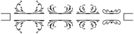 MFC Elmstead Split otf (400) Font OTHER CHARS
