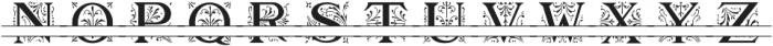 MFC Elmstead Split otf (400) Font UPPERCASE