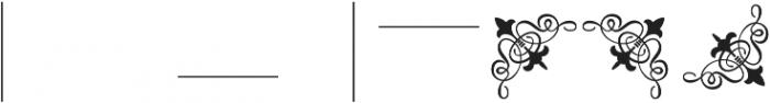 MFC Franklin Corners Three Regular otf (400) Font OTHER CHARS