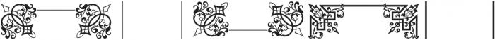 MFC Franklin Corners Three Regular otf (400) Font UPPERCASE