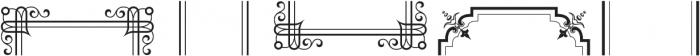 MFC Franklin Corners Three Regular otf (400) Font LOWERCASE
