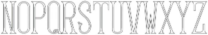 MFC Gilchrist Monogram Regular otf (400) Font LOWERCASE