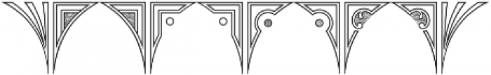 MFC Glencullen Monogram Regular otf (400) Font OTHER CHARS