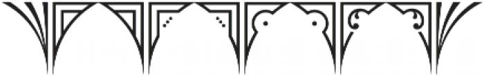 MFC Glencullen Solid Monogram Regular otf (400) Font OTHER CHARS