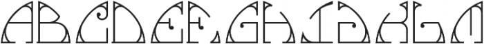 MFC Glencullen Solid Monogram Regular otf (400) Font LOWERCASE
