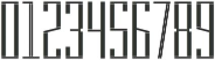 MFC Hardwood Monogram Basic Regular otf (400) Font OTHER CHARS