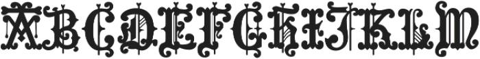MFC Hills Medieval Regular otf (400) Font UPPERCASE