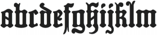 MFC Hills Medieval Regular otf (400) Font LOWERCASE