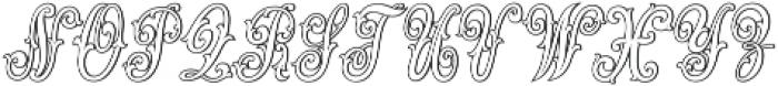 MFC Jewelers Monogram Regular otf (400) Font LOWERCASE