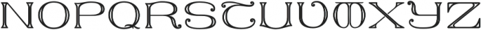 MFC Keating Monogram One otf (400) Font UPPERCASE