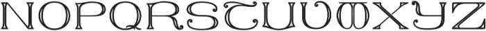 MFC Keating Monogram One otf (400) Font UPPERCASE