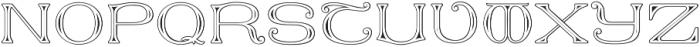 MFC Keating Monogram Regular otf (400) Font UPPERCASE