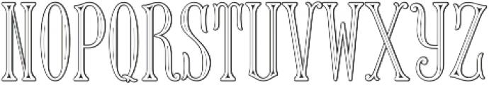 MFC Keating Monogram Regular otf (400) Font LOWERCASE