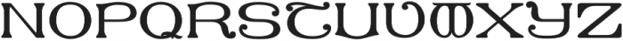 MFC Keating Monogram Solid otf (400) Font UPPERCASE
