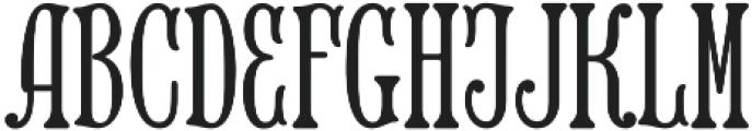 MFC Keating Monogram Solid otf (400) Font LOWERCASE