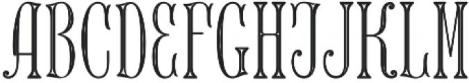 MFC Keating Monogram Stencil otf (400) Font LOWERCASE