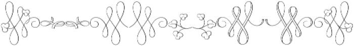 MFC Klaver Monogram Regular otf (400) Font OTHER CHARS