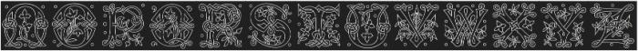 MFC Laroux Initials Regular otf (400) Font UPPERCASE