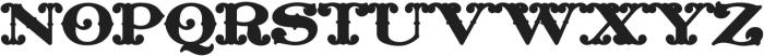 MFC Livermore Monogram Base otf (400) Font UPPERCASE