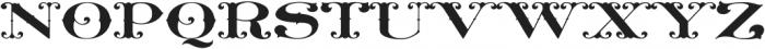 MFC Livermore Monogram Regular otf (400) Font LOWERCASE
