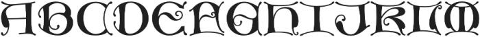 MFC Medieval Monogram Basic Regular otf (400) Font UPPERCASE