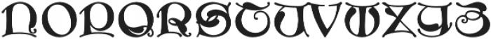 MFC Medieval Monogram Regular otf (400) Font LOWERCASE