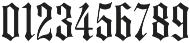 MFC Medieval Monogram Stack Regular otf (400) Font OTHER CHARS