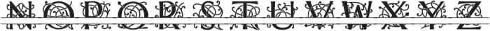MFC Mercer Split Regular otf (400) Font UPPERCASE