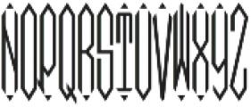 MFC Moissanite Monogram Regular otf (400) Font UPPERCASE