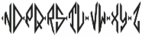 MFC Moissanite Monogram Regular otf (400) Font LOWERCASE