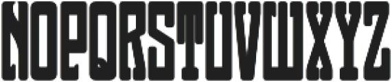 MFC Neuport Monogram Backdrop Regular otf (400) Font LOWERCASE